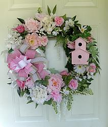 Cottage Chic Grapevine Wreath