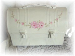 Chic Vintage Shabby Decorative Lunch Box.