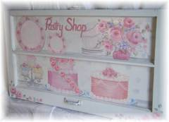 Cottage Chic Pastry Shop Window Sign SOLD