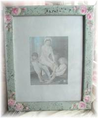 So Adorable Cottage  Picture Frame