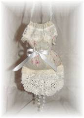 Victorian Chic Hanging Dress  Sachet
