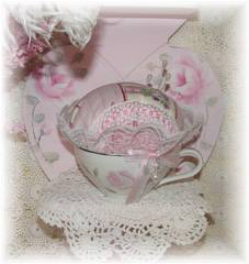 How Cute! Teacup Sachet Pin Cushion
