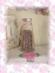 Old Vintage Shaker Filled with Lavender