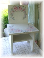 So Sweet Childs Shabby Rose Cottage Chair