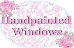 Handpainted Antique Cottage Windows