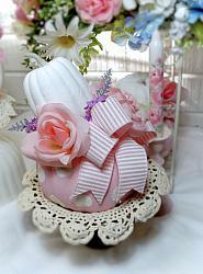 Pretty In Pink Pumpkin Arrangement