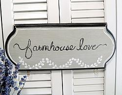 Hand Painted Country Chic Farmhouse Sign