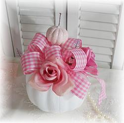 Ohhh! So Pretty Rose Pumpkin Centerpiece