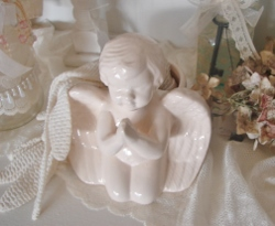 Chic and Adorable Angel Cherub Planter